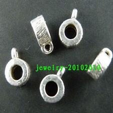 400pcs Tibetan Silver Beautiful Bails 8x3mm 8932
