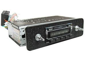 Jaguar XKE E-Type Series 1 2 AM FM iPod MP3 USB Original Look Style Stereo Radio
