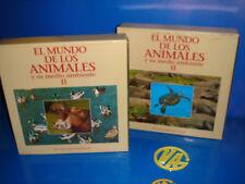 LASER DISC LOTE DE PELICULAS DOCUMENTALES-2 ESTUCHES el mundo de los animales