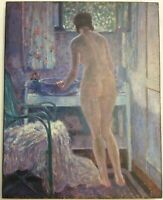 Morning Toilet by Fredrick Carl Frieseke Print On Board FoundArtShop.com