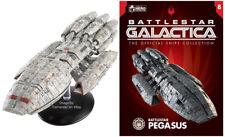Eaglemoss Battlestar Galactica #8 BATTLESTAR PEGASUS Model 2004 Series