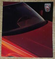 Vtg 1988 STERLING CAR SALES BROCHURE Honda V-6 Engine 825 S/ 825 SL Austin Rover