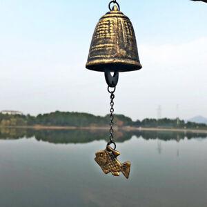 Japanese Furin Wind Chime Bell Nambu Cast Iron Iwachu Bell House Garden Decor