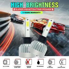 H1 6000K Fanless CREE COB LED Auto Headlight Kit Driving Bulbs 1700W 255000LM