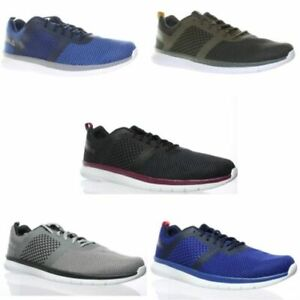 Reebok Mens Pt Prime Runner Gray Running Shoes Size 8