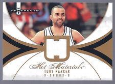 Tony Parker 07-08 NBA Hot Prospects 'Hot Materials' Spurs Hornets France Jersey