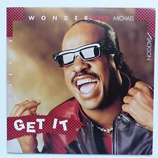 STEVIE WONDER AND MICHAEL JACKSON Get it ZB 41883 rrr