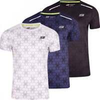 Skechers Men's Sports T Shirt Running Gym Activewear Short Sleeved Breathable