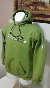"""2010 Olympics Winter Games Vancouver Canada Hoodie Mens SZ S 21"""" PIT TO PIT"""