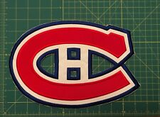 MONTREAL CANADIENS  JERSEY CREST PATCH JERSEY EMBROIDERED NHL LARGE