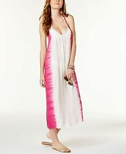 Raviya Tie-Dyed Maxi Cover-Up Dress Pink XL
