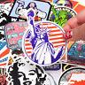 50pcs Cool retro Sticker Graffiti Skateboard Luggage Decal For Kids
