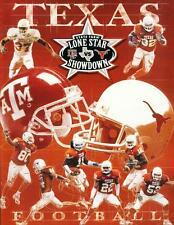 Texas Football  Game Magazine  UT Austin Longhorns vs A&M Aggies Nov 26  2004
