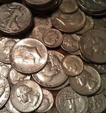 New listing Sale 5 Ounces 90% Silver Coins Junk Bullion Halves Quarters Dimes