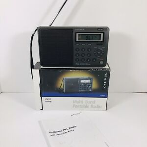Radioshack Optimus 12-808 Multi Band Portable Radio AM/FM Weather Shortwave