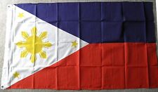 PHILIPPINES POLYESTER INTERNATIONAL COUNTRY FLAG 3 X 5 FEET