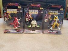 Digimon Tamers Kumitate Guilmon Renamon Terriermon Complete Set