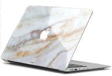 "13"" MacBook Air Case (2012-2017) with Vanilla Marble Decal Skin, Uniqfind"