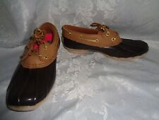 NICE Sperry Top Sider Cormorant Womens Waterproof Duck Boots Shoes Size 7