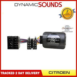 CTSCT002 sony Stereo Adattatore Asta Controllo Sterzo per Citroen C2,C3,C5,C8
