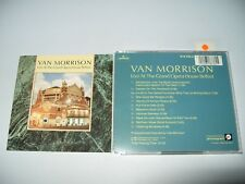 Van Morrison Live At The Grand Opera House Belfast 11 Track cd 1984 vg/ex