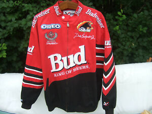 Vintage Rare Authentic Dale Earnhardt Jr. Budweiser ChaseXLRed NASCAR New Jacket