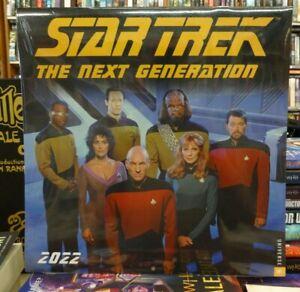 Star Trek The Next Generation Calendar 2022
