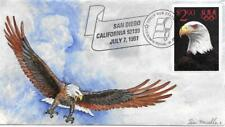 2540  $2.90 Priority Mail ; TOM MUELLER Hand Painted Cachet on FDC. Only 20 made