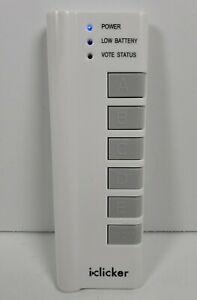 iClicker 1st Gen. Classroom Student Response Remote Control T24-RLR13