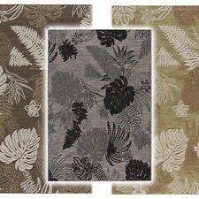 Outdoor Teppich Wetterfest 3D Teppiche Blumen Muster für Lounge Terrasse Garten