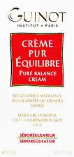 Guinot Pure Balance Cream Creme Oily Skin 50ml(1.7oz) Fresh New