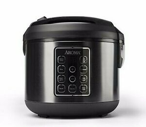 AROMA 12 Cup 3 Quart Slow Cooker / Steamer / Rice Cooker / 7 in 1 appliance