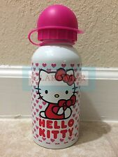 ☀ NEW Hello Kitty Stainless Steel Water Bottle Travel White Pink Large 17 oz