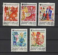année Internationale de l'enfance Hongrie 1979  5 timbres / T1654