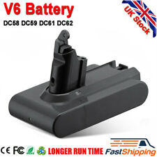 For Dyson V6 Vacuum Replace Battery, V6 Animal, DC58 DC59 DC61 Fast Shipping