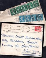 France Early Postal History Cover collection WS7411