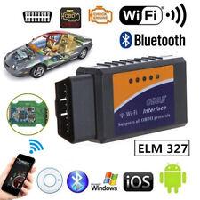 ELM327 WiFi Bluetooth OBD OBDII Car Diagnostic Scanner Code Reader To~GN
