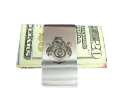 Frog 8 Ball  Money Clip Stainless Steel Cash Credit Card Wallet Clipper