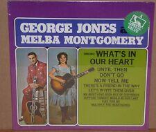 George Jones Melba Montgomery sealed LP vinyl record cut out LIBERTY