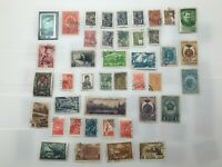 Old stamps from Russia 40s period 1940 - 1950
