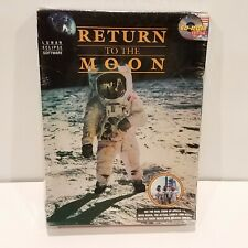 Nuevo regreso a la Luna (1994 Cd-Rom software) 04-10656 Computadora Pc Eclipse lunar