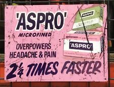 ASPRO OLD ADVERTISING SIGN