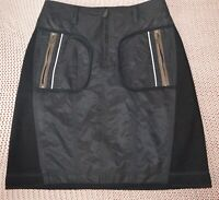 Marc Cain Skirt insulated in black. Size 1 (s)
