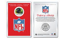 ATLANTA FALCONS NFL Helmet JFK Half Dollar US Coin w/ NFL Display Case LICENSED