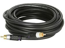 Extra Long Subwoofer Cable (35 Feet) - Dual Shielded Extra Long RCA Cable 35'