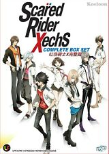 DVD Japan Anime Scared Rider Xechs Complete Series (1-12 End) English Subtitle