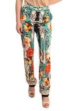 RRP €995 ETRO Trousers Size 46 / L Stretch Patterned Straight Leg Made in Italy