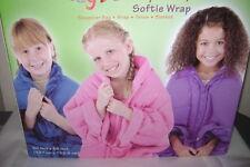 Softie Wrap Sleepover Bag Wrap Throw Blanket Purple NWT
