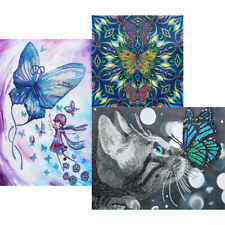 5D Butterfly Crystal Drill Special-Shaped Diamond Painting DIY Mosaic Kits