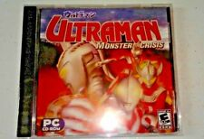Ultraman Monster Crisis PC CD-ROM New Sealed Win ME/2000/XP/Vista
